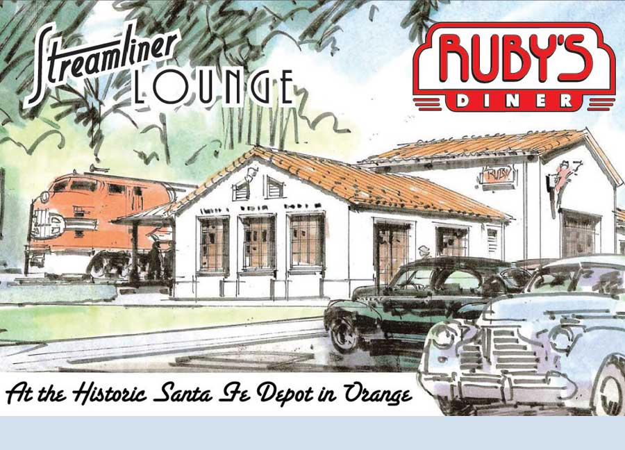 Ruby's Diner and Streamliner Lounge