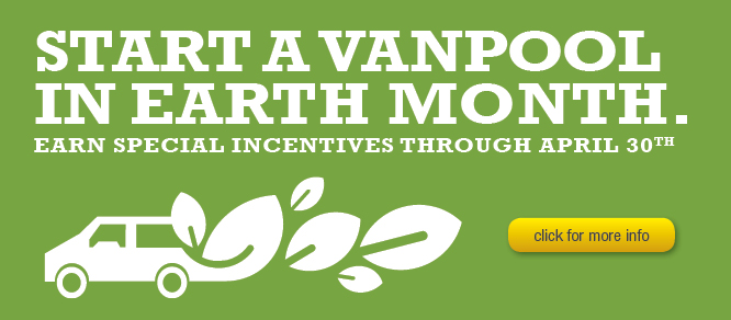 Earth Month Vanpool