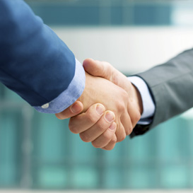 Bussiness Shaking Hands Image