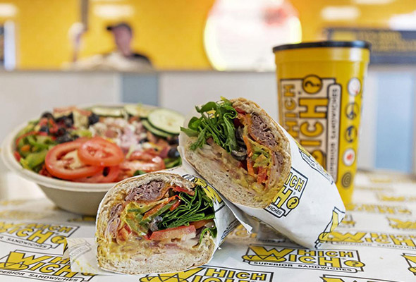 Which Wich Sandwiches