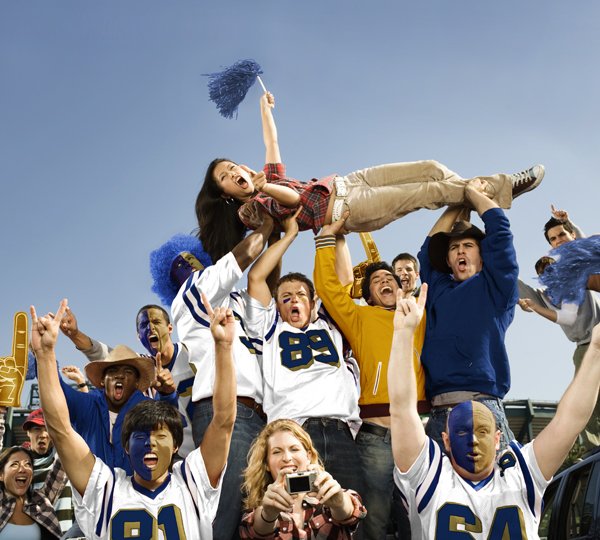 Rams Football Game - Featured