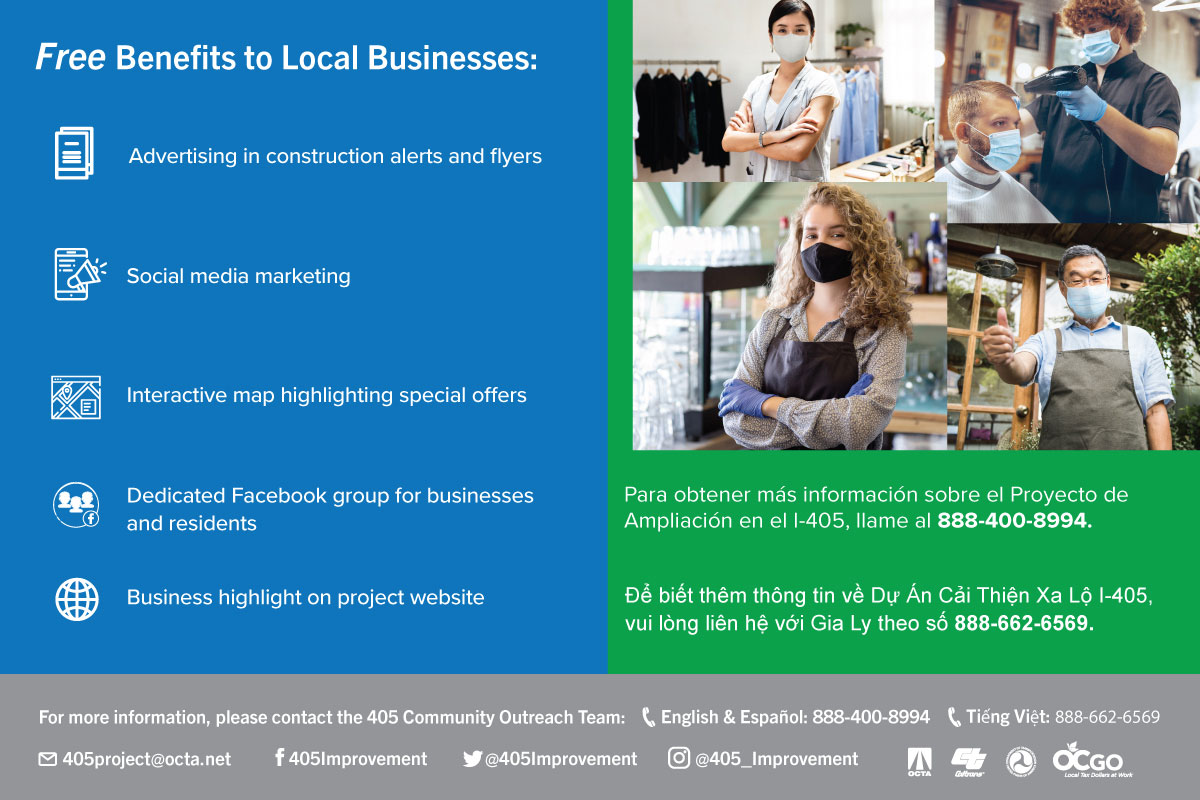 Free Benefits to Local Businesses