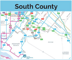 south county map