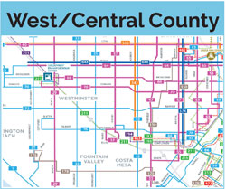 west central county map