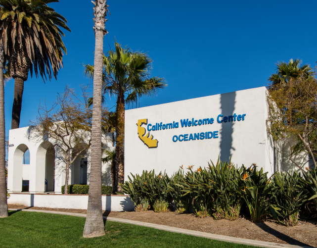 California Welcome Center - Oceanside